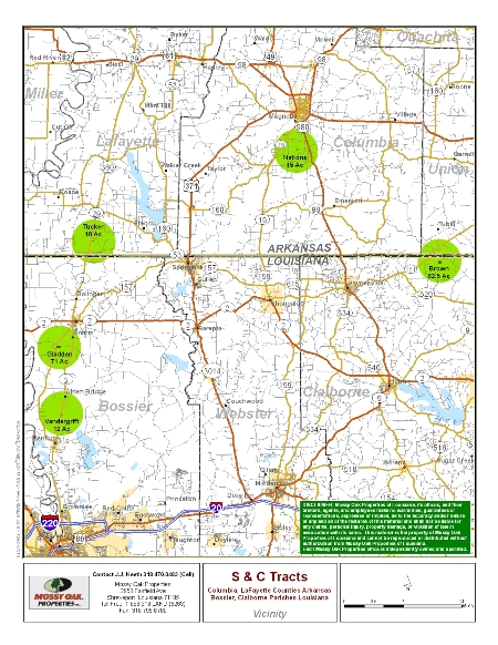 Mississippi Landsource Properties Land For Sale In Natchitoches - Louisiana hunting map